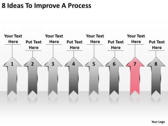 PowerPoint Arrow Shapes 8 Ideas To Improve Process Templates