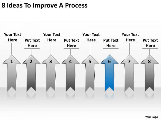 PowerPoint Arrows 8 Ideas To Improve Process Slides