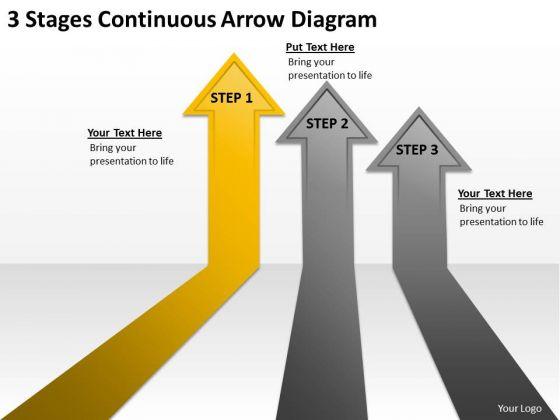 PowerPoint Arrows Diagram Templates Backgrounds For Slides