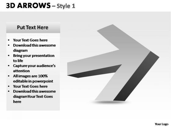 PowerPoint Backgrounds Business Arrows Ppt Design