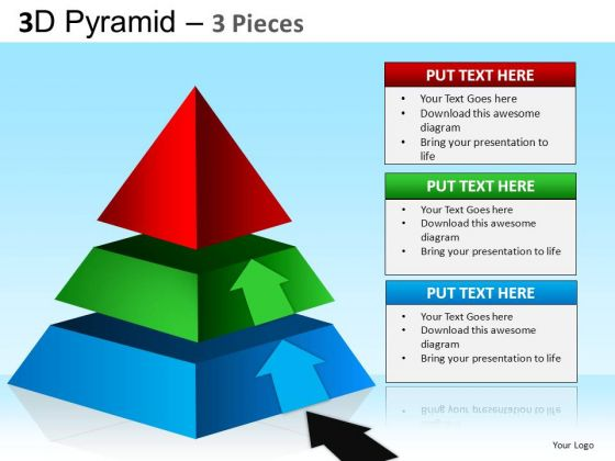 PowerPoint Backgrounds Business Education Pyramid Ppt Process