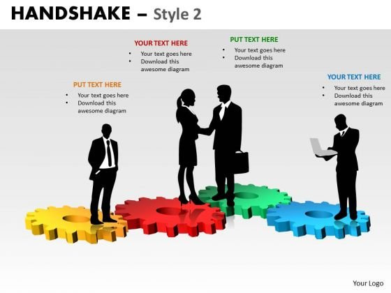 PowerPoint Backgrounds Business Handshake Ppt Slidelayout