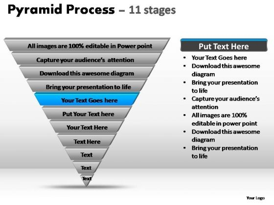 PowerPoint Backgrounds Business Pyramid Process Ppt Slides