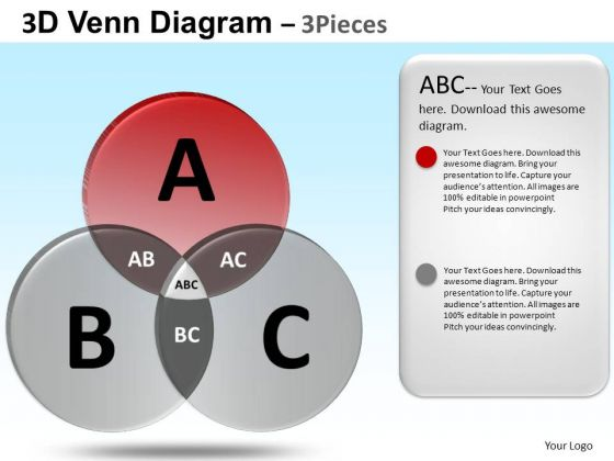 PowerPoint Backgrounds Business Strategy Venn Diagram Ppt Templates