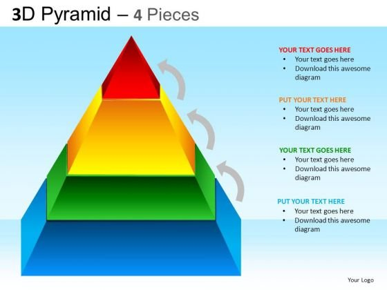 PowerPoint Backgrounds Business Success Pyramid Ppt Presentation Designs