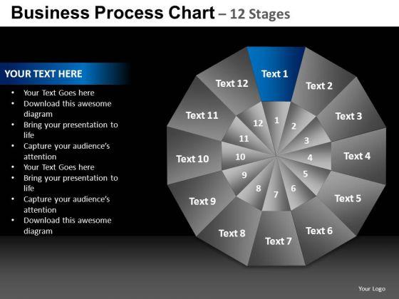 PowerPoint Backgrounds Chart Pie Chart Ppt Presentation