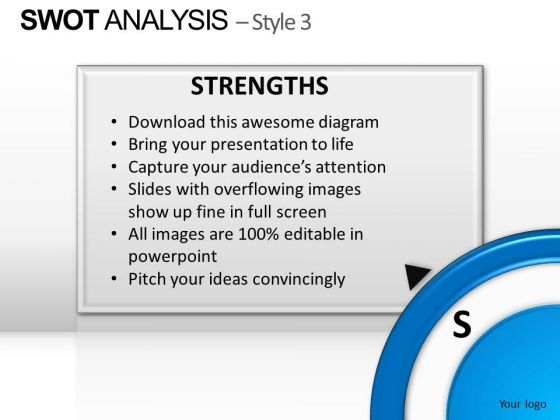 PowerPoint Backgrounds Chart Swot Analysis Ppt Layout