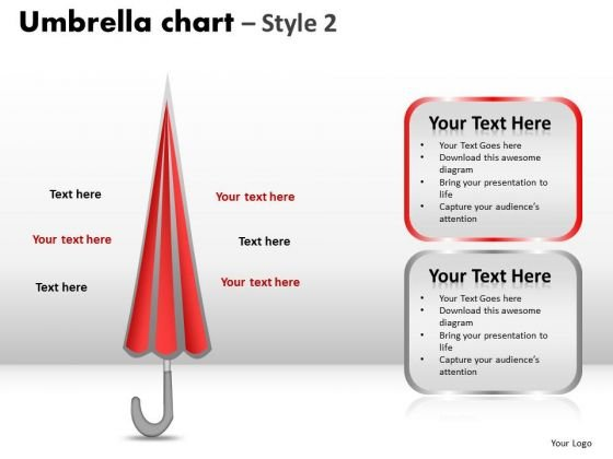 PowerPoint Backgrounds Chart Umbrella Chart Ppt Designs