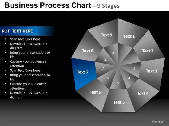 PowerPoint Backgrounds Company Quadrant Diagram Ppt Presentation