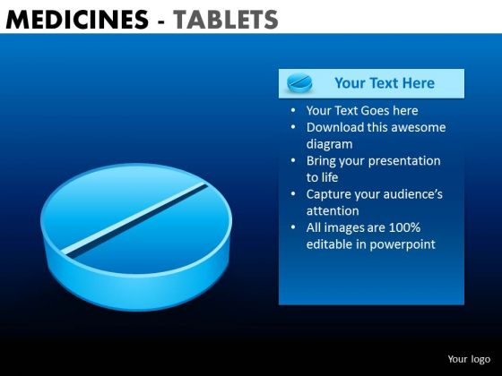 PowerPoint Backgrounds Corporate Leadership Targets Medicine Tablets Ppt Templates