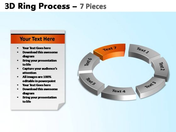 PowerPoint Backgrounds Cycle Process Ring Process Ppt Slide Designs