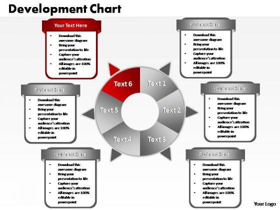 PowerPoint Backgrounds Diagram Business Process Ppt Slide