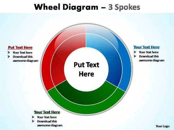 PowerPoint Backgrounds Diagram Wheel Diagram Ppt Template