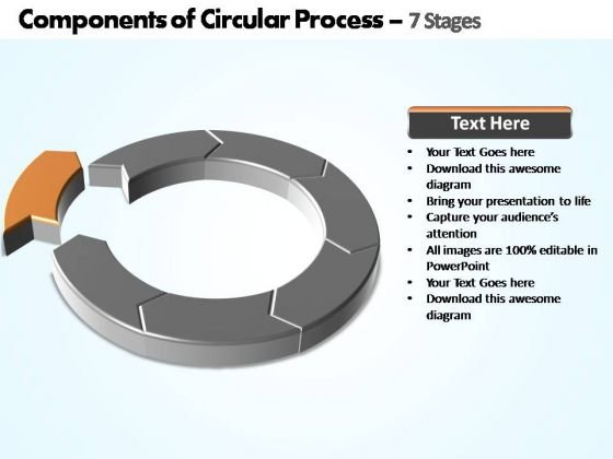 PowerPoint Backgrounds Download Components Of Circular Ppt Design