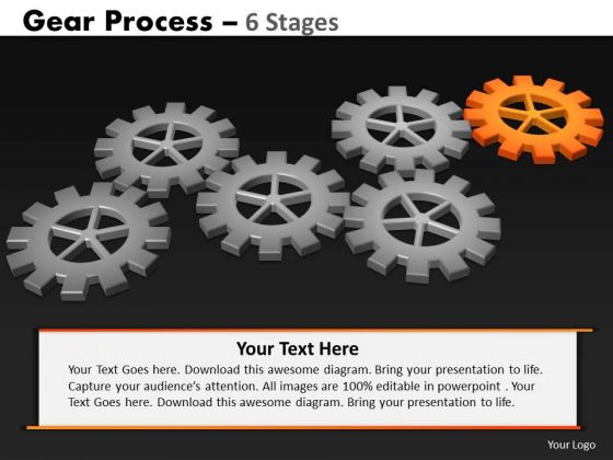 PowerPoint Backgrounds Download Gears Process Ppt Slides