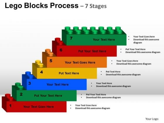 PowerPoint Backgrounds Download Lego Blocks Ppt Layouts