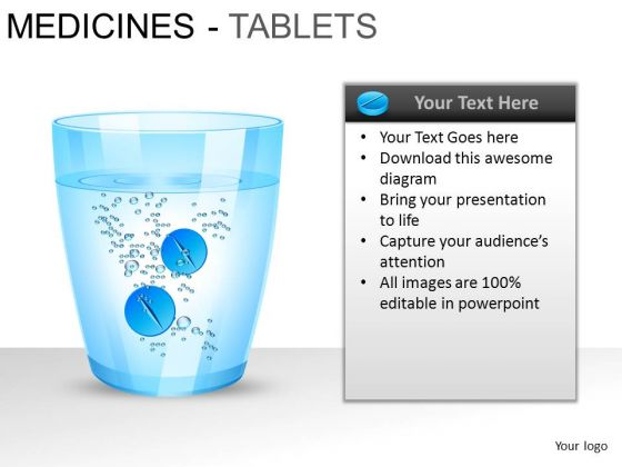 PowerPoint Backgrounds Download Medicine Tablets Ppt Design