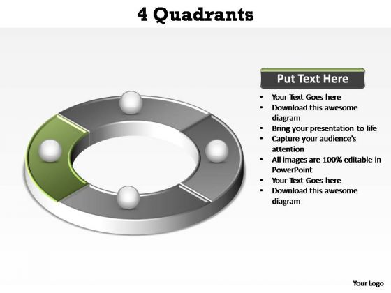 PowerPoint Backgrounds Download Quadrants Ppt Theme