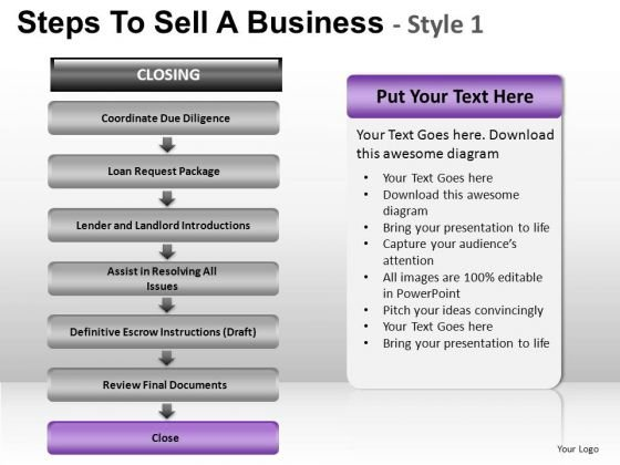 PowerPoint Backgrounds Download Steps To Sell Ppt Themes