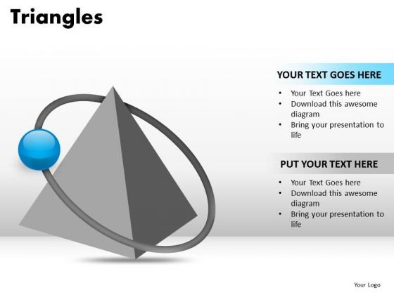 PowerPoint Backgrounds Download Triangles Ppt Template