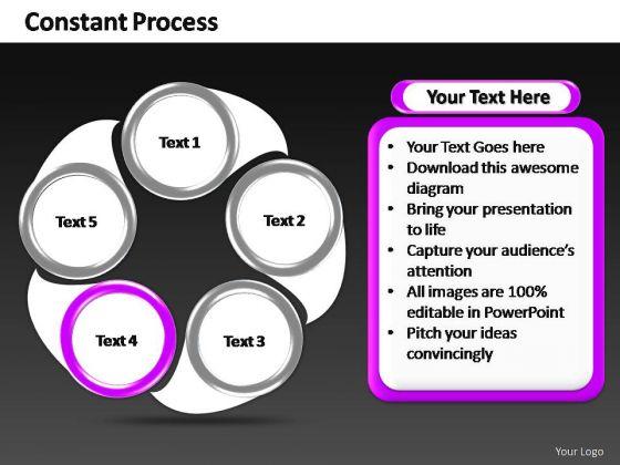 PowerPoint Backgrounds Editable Constant Process Ppt Design