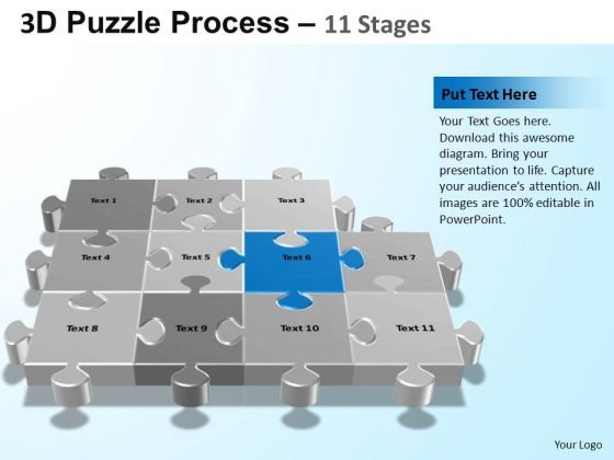 PowerPoint Backgrounds Global Puzzle Process Ppt Presentation