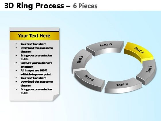 PowerPoint Backgrounds Global Ring Process Ppt Slide Designs