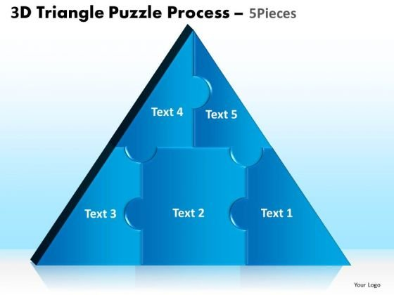PowerPoint Backgrounds Global Triangle Puzzle Ppt Designs