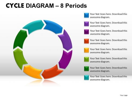 PowerPoint Backgrounds Graphic Cycle Diagram Ppt Process