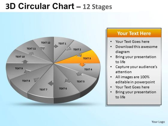 PowerPoint Backgrounds Growth Circular Ppt Designs
