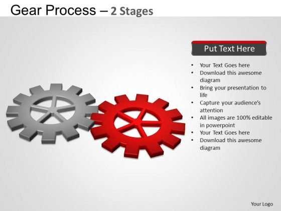 PowerPoint Backgrounds Growth Gears Process Ppt Slides