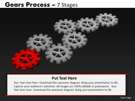 PowerPoint Backgrounds Image Gears Process Ppt Theme