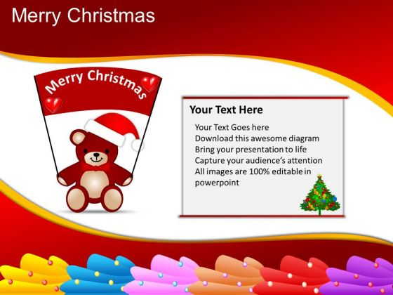 PowerPoint Backgrounds Image Merry Christmas Ppt Templates