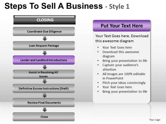 PowerPoint Backgrounds Image Steps To Sell Ppt Design