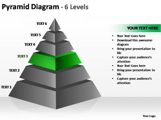 PowerPoint Backgrounds Leadership Cone Diagram Ppt Theme