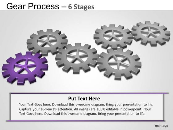 PowerPoint Backgrounds Leadership Gears Process Ppt Theme