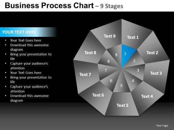 PowerPoint Backgrounds Leadership Quadrant Diagram Ppt Slide Designs