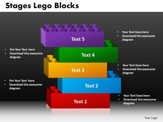 PowerPoint Backgrounds Lego Blocks Marketing Ppt Slide Designs