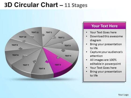 PowerPoint Backgrounds Marketing Circular Ppt Design