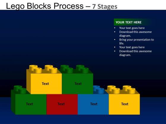 PowerPoint Backgrounds Marketing Lego Blocks Ppt Design Slides