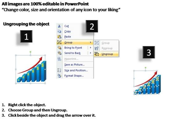 PowerPoint Backgrounds Process Business Growth Ppt Slide
