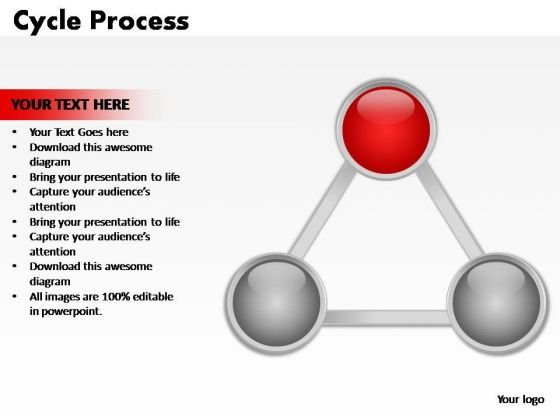 PowerPoint Backgrounds Process Cycle Process Ppt Slide