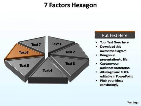 PowerPoint Backgrounds Process Hexagon Ppt Presentation