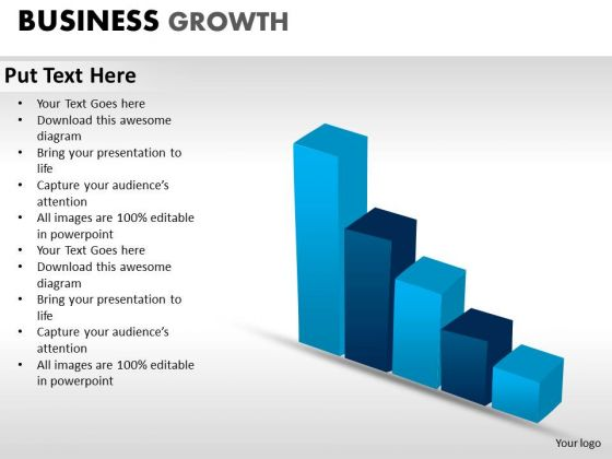 PowerPoint Backgrounds Strategy Business Growth Ppt Slides