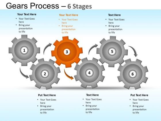 PowerPoint Backgrounds Strategy Gears Ppt Templates