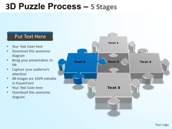 PowerPoint Backgrounds Strategy Puzzle Process Ppt Slide Designs