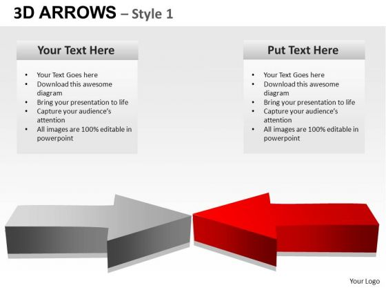 PowerPoint Backgrounds Success Arrows Ppt Slides