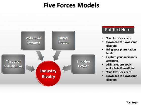 PowerPoint Backgrounds Success Forces Models Ppt Slide Designs
