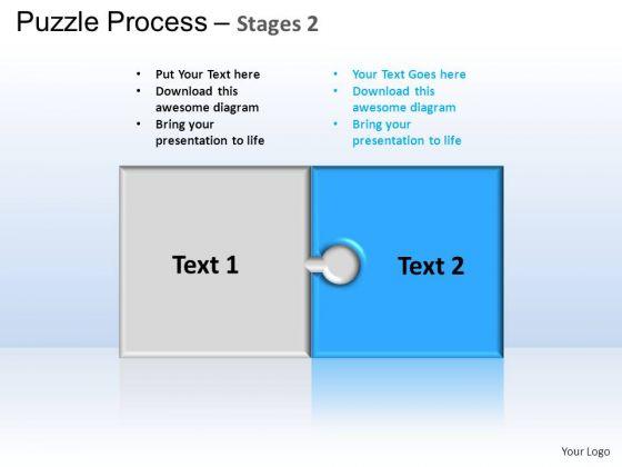PowerPoint Backgrounds Success Puzzle Process Ppt Slides