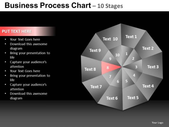 PowerPoint Backgrounds Success Quadrant Diagram Ppt Presentation